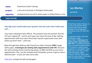 PowerForce Sales Training e-zine ad P1