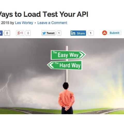 Load Testing APIs (SmartBear Software)