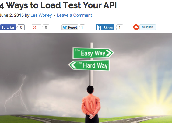4 Ways To Load Test Your API sm